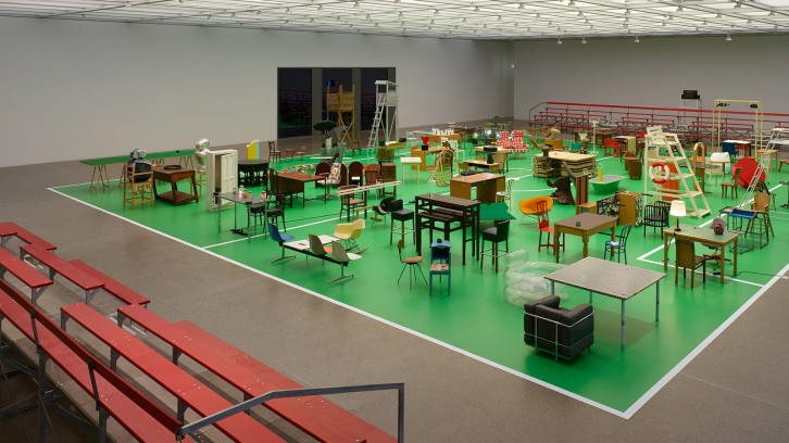 "The Happy End of Franz Kafka's ""Amerika"" - Installation von Martin Kippenberger - Essen/Museum Folkwang"