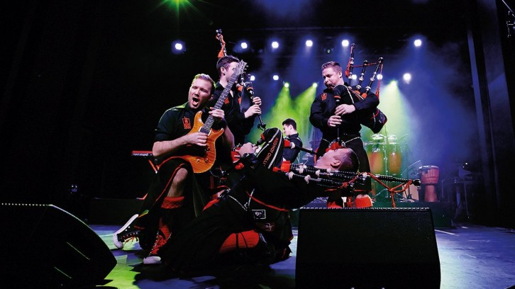 "Red Hot Chilli Pipers - ""Fresh Air""-World Tour 2020 - Osnabrück/Rosenhof"