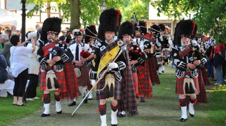 The Pipes and Drums of the Royal British Legion